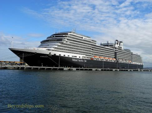Holland America cruise ship Eurodam