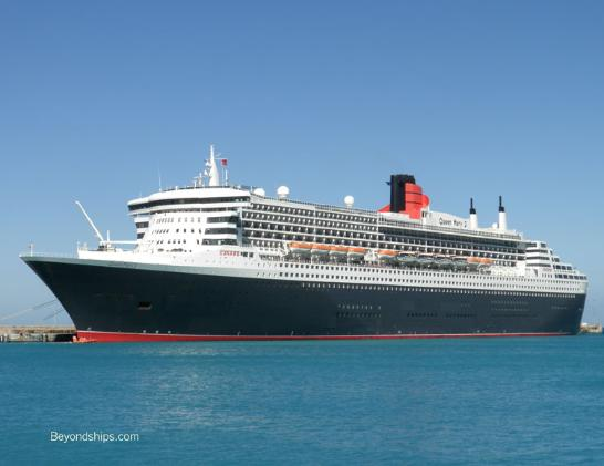 Queen Mary 2 Barbados