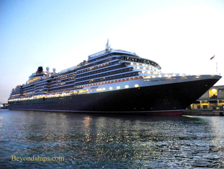 cruise ship photo - Queen Victoria - Cunard Line - Venice