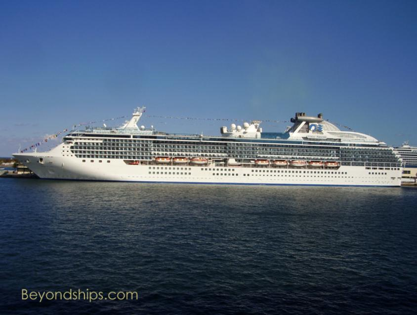 Coral Princess cruise ship