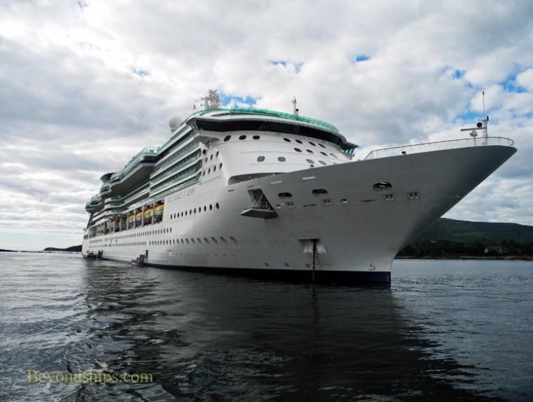 Royal Caribbean cruise ship Brilliance of the Seas