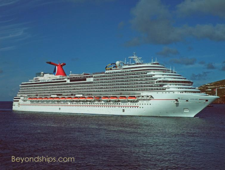 Photo of cruise ship Carnival Dream of Carnival Cruise Lines